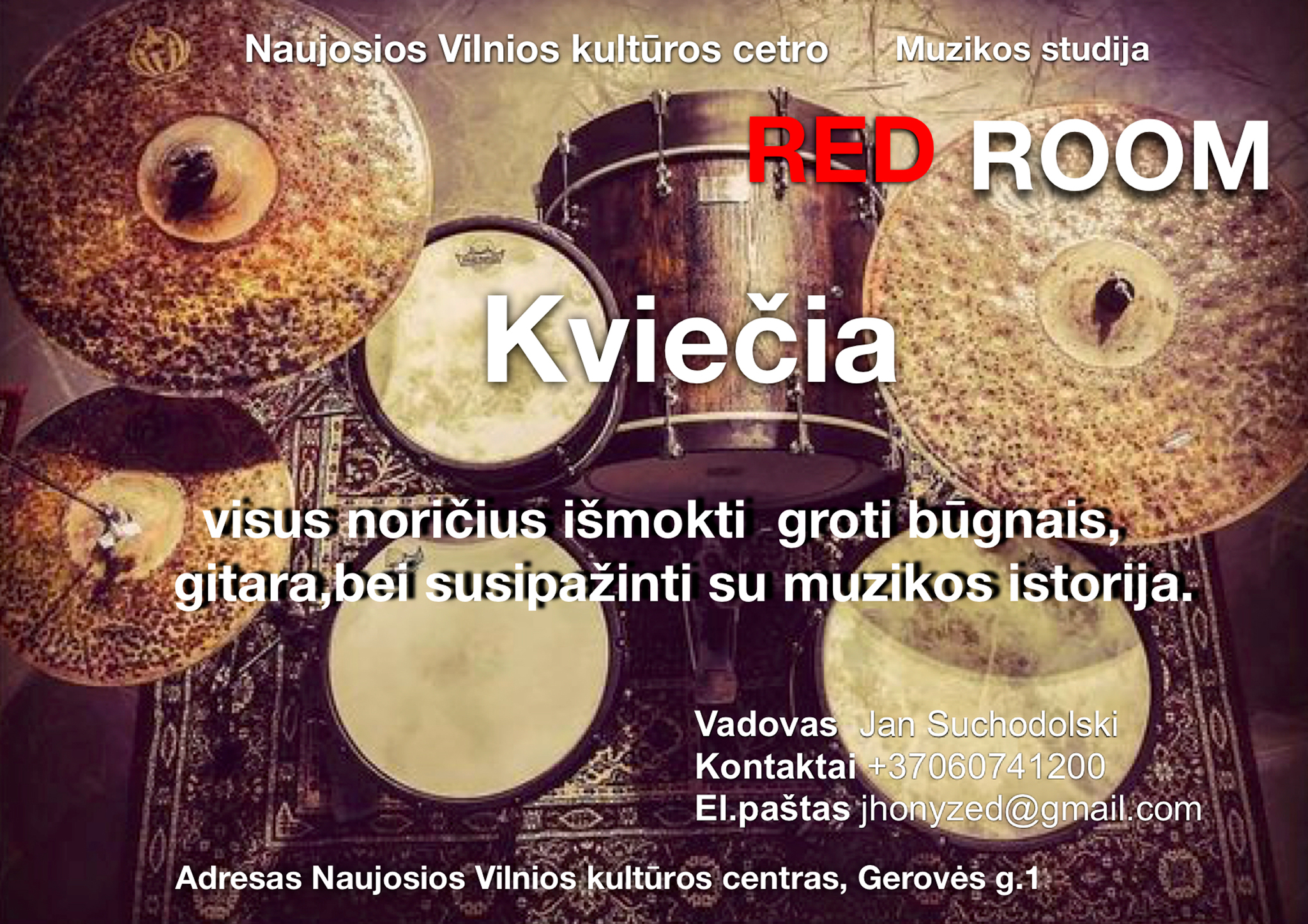 Muzikos studija ,,Red room''