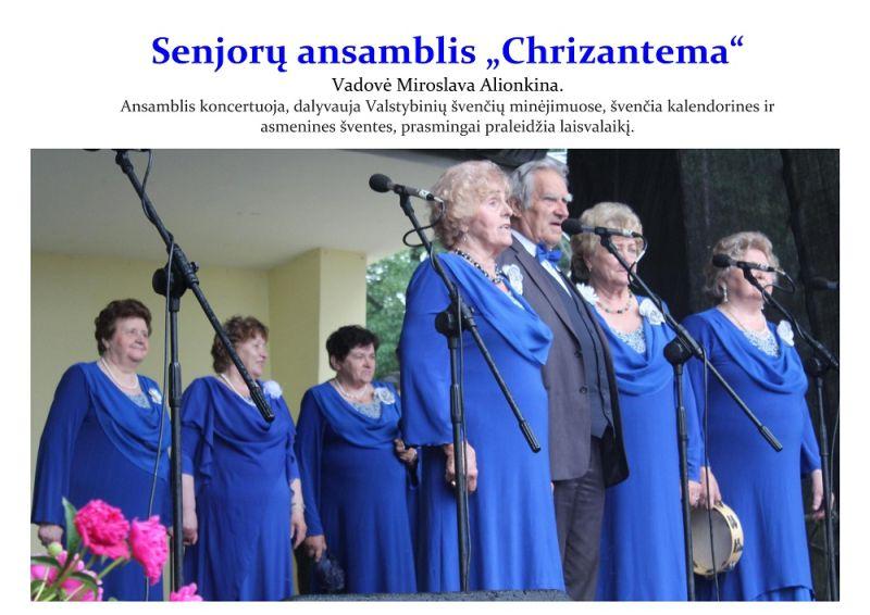 "Senjorų ansamblis ,,Chrizantema"""