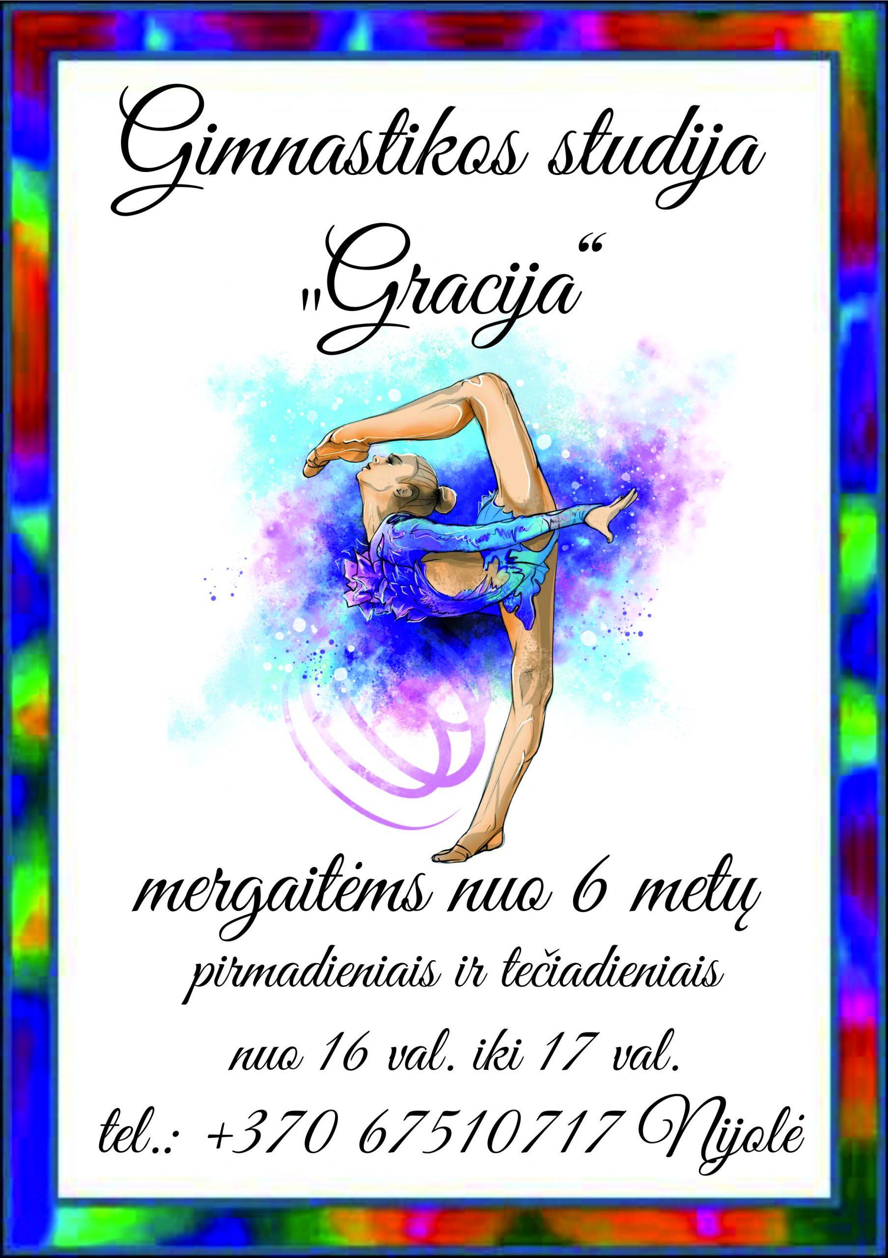 """Gimnastikos studija """"Gracija"""""""